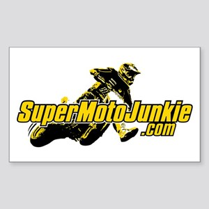 SupermotoJunkie.com Sticker (Rectangle)