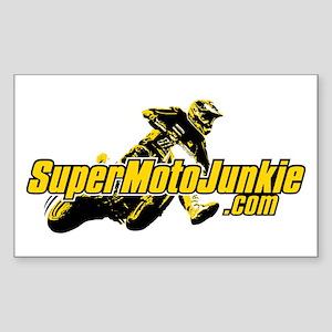 SupermotoJunkie.com Sticker (Rectangle)