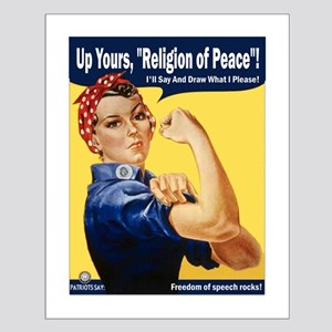 Up Yours, Islam! Small Poster