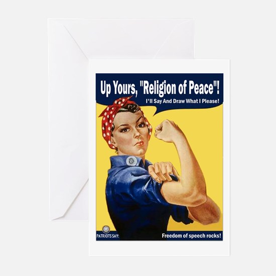 Up Yours, Islam! Greeting Cards (Pk of 10)
