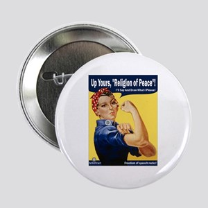 Up Yours, Islam! Button