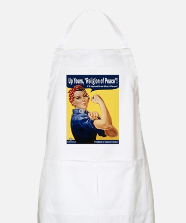 Up Yours, Islam! BBQ Apron