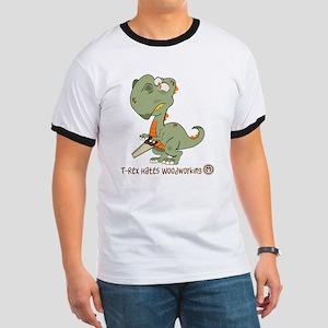 T-Rex Hates Woodworking T-Shirt