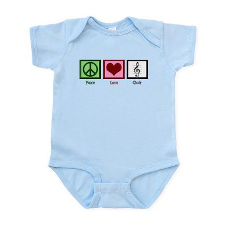 Peace Love Choir Infant Bodysuit