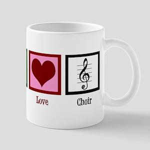 Peace Love Choir Mug