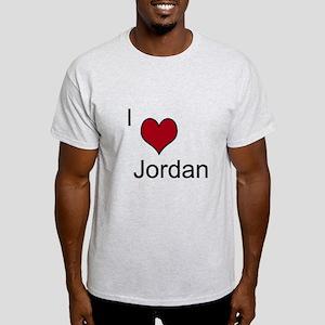 I <3 Jordan Light T-Shirt