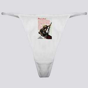 Prayer Against Dhimmitude Classic Thong