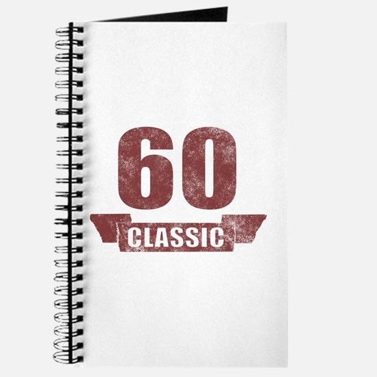 60th Birthday Classic Journal