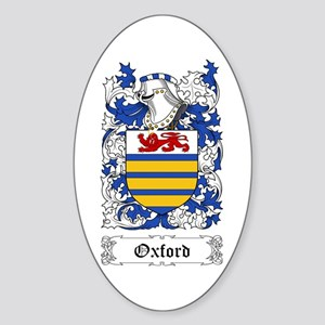 Oxford Sticker (Oval)