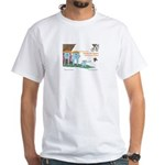 The Adventures of Symmy the Square Book T-shirt