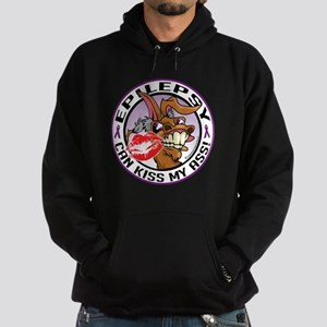 Epilepsy Can Kiss My Ass Hoodie (dark)