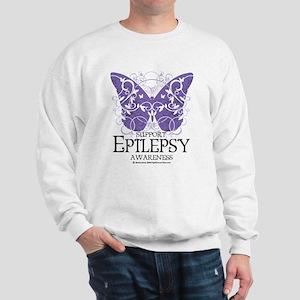 Epilepsy Butterfly Sweatshirt