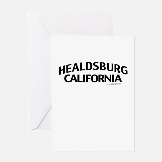 Healdsburg Greeting Card