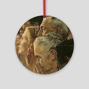 Fight the Jihad Ornament (Round)