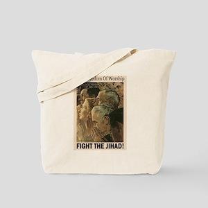 Fight the Jihad Tote Bag