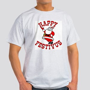 Santa and FESTIVUS™ Light T-Shirt