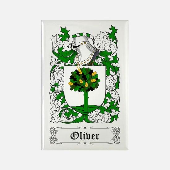 Oliver [English] Rectangle Magnet