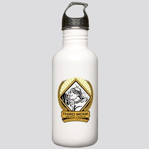 Transparent Background Stainless Water Bottle 1.0L