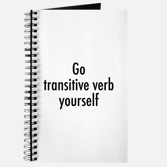 Verb Yourself Journal