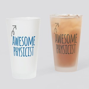 Awesome physicist Drinking Glass