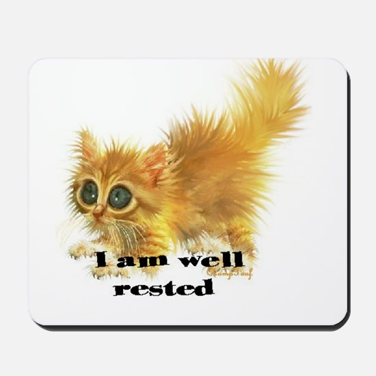 well rested Mousepad