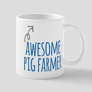 Awesome pig farmer Mugs