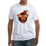 MonkeeFace Fitted T-Shirt