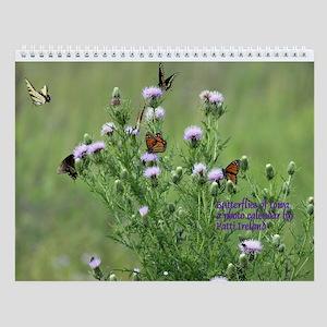 Butterflies Of Iowa Wall Calendar