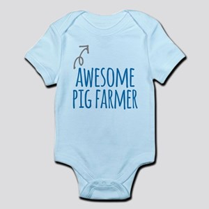 Awesome pig farmer Body Suit