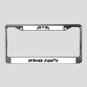 Monkee Armada License Plate Frame