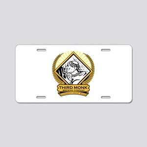 Transparent Background Aluminum License Plate