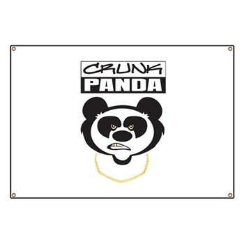 Crunk Panda™ Banner