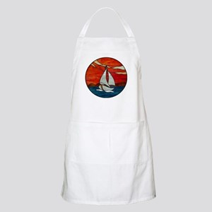 Stained Glass Design Apron
