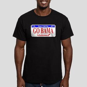 Go Bama! Men's Fitted T-Shirt (dark)