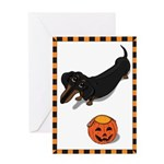 Got Treats? Dachshund Hallowe Greeting Card