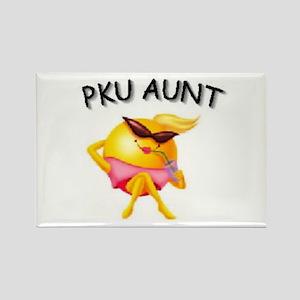 PKU AUNT Rectangle Magnet