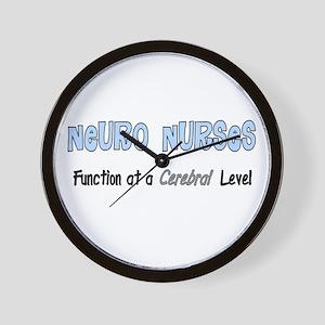 Neuro Nurse Wall Clock