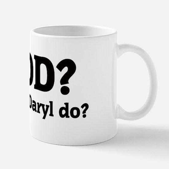 What would Daryl do? Mug