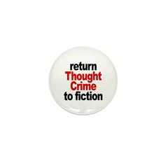 Thought Crime Mini Button (10 pack)