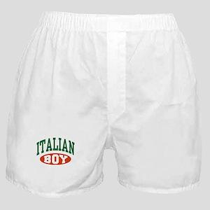 Italian Boy Boxer Shorts