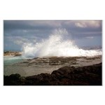 Ocean Wave Large Poster