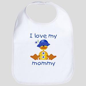 I love my mommy (girl ducky) Bib