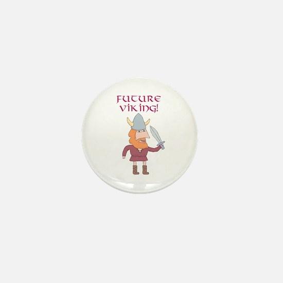 Future Viking! Mini Button