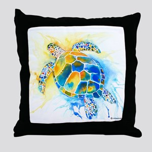 More Sea Turtles Throw Pillow