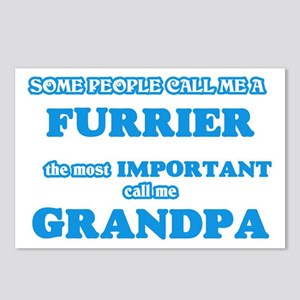 Some call me a Furrier, t Postcards (Package of 8)