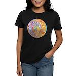 Rainbow Crescents Women's Dark T-Shirt
