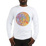 Rainbow Crescents Long Sleeve T-Shirt