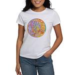 Rainbow Crescents Women's T-Shirt