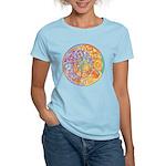 Rainbow Crescents Women's Light T-Shirt