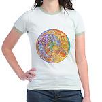 Rainbow Crescents Jr. Ringer T-Shirt